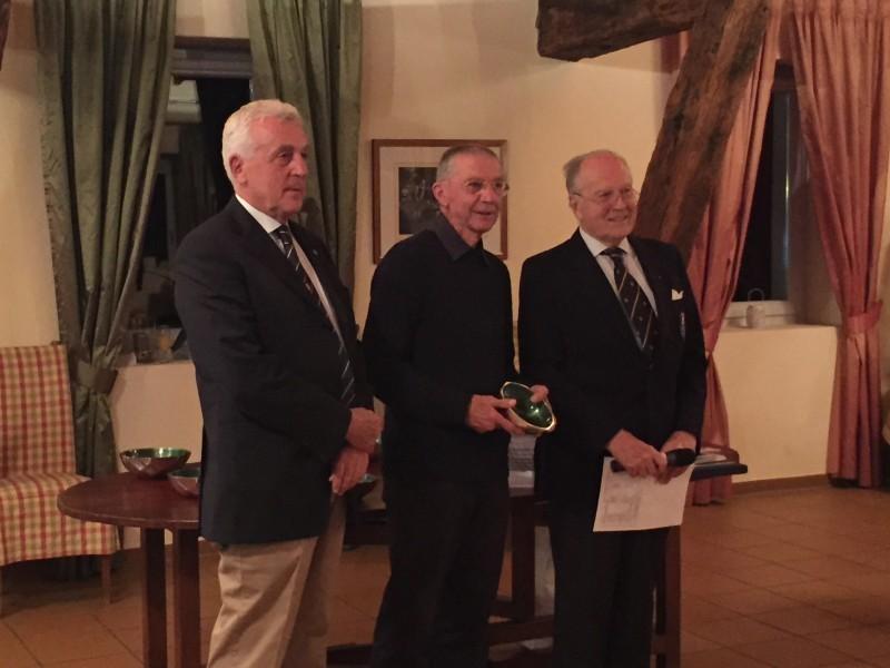 Premiazione gara di golf
