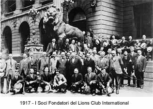 Soci fondatori del Lions Club